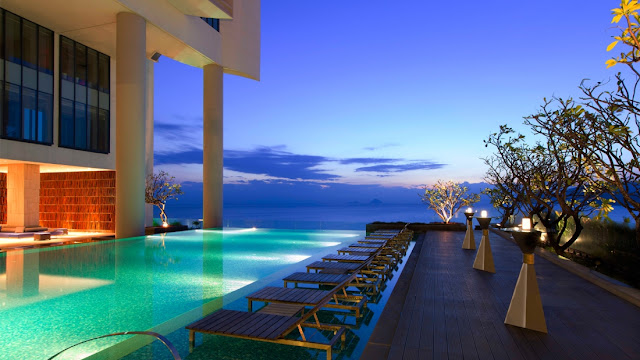 Hồ bơi - khách sạn sheraton Nha Trang