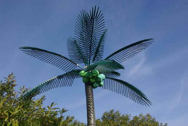 Try Being Creative With Some Artificial Palm Trees In Many Different  Varieties. Add Some Foliage Around The Bottom And Some Signage To Give ...