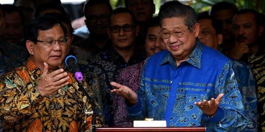 SBY Surati Petinggi Demokrat, Tak Setuju Konsep Kampanye Akbar Prabowo-Sandi