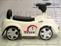 Ride-on Car Pliko PK536 Mini Cooper Mobil Mainan Anak