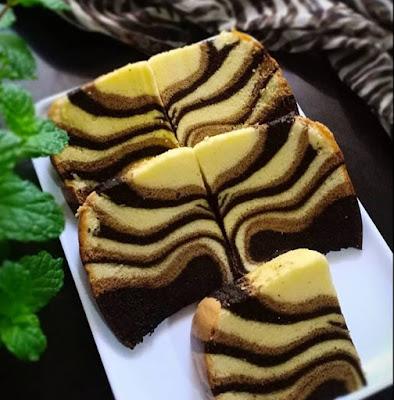 Resep Cara Membuat Ogura Cake Macan