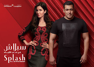 OMG Katrina Kaif Looks Stunning with Salman Khan modeling Splash Autumn Collection