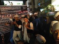 Maydani Meriahkan Pawai Obor di Kota Medan