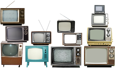 TV sets old vintage