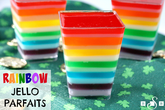 Jello arc-en-ciel