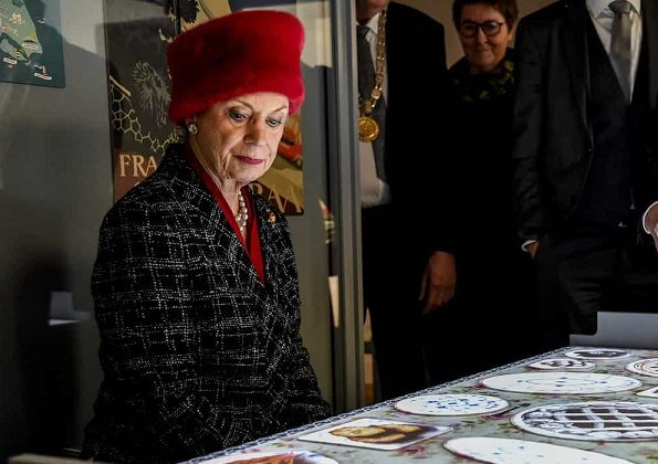 Princess Benedikte opened a new exhibition called 100 years with Denmark - Southern Jutland since the reunification at Jutland Museum