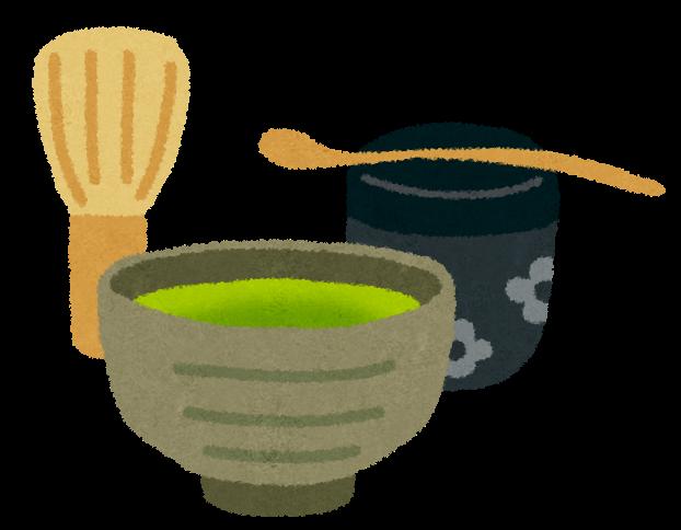 茶道の道具のイラスト「茶碗 ...