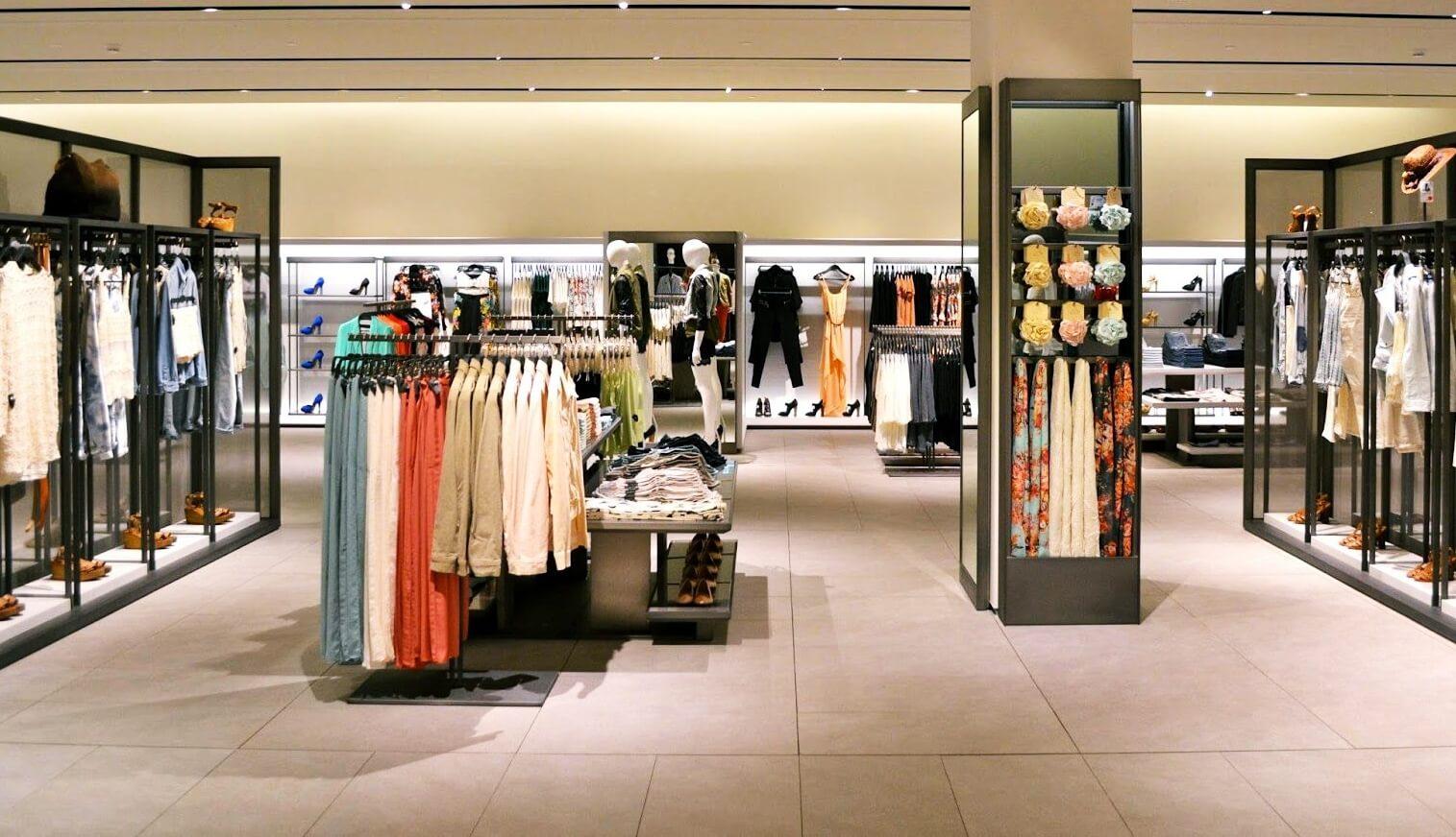 Chuỗi cửa hàng thời trang đẳng cấp