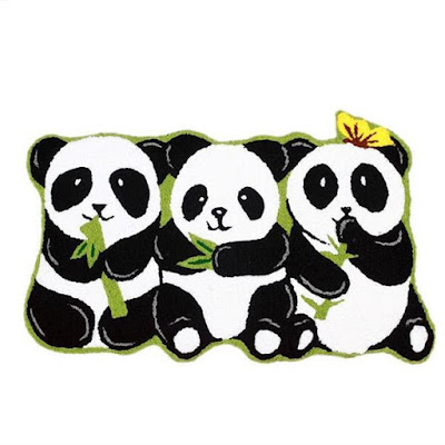 Panda Anti-Slip Bath Rug