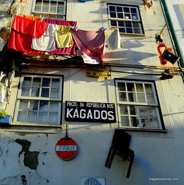 República estudantil em Coimbra, Portugal