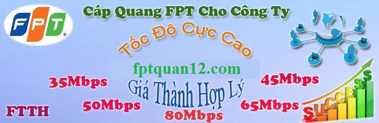 Cap Quang FPT Cong Ty Quan 12