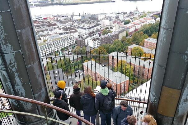 St Michaelis, Michel, Aussicht, Turm, Kirche, Hamburg