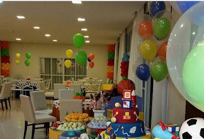 balões látex duplos gás hélio coloridos
