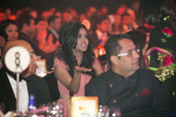 Heena Husain and Rizwan Sajan, Masala! Awards 2014 Inside Pics