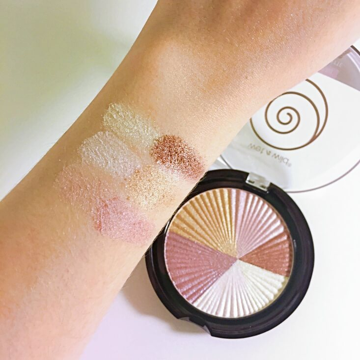 wet n wild color icon Eyeshadow Air swatch