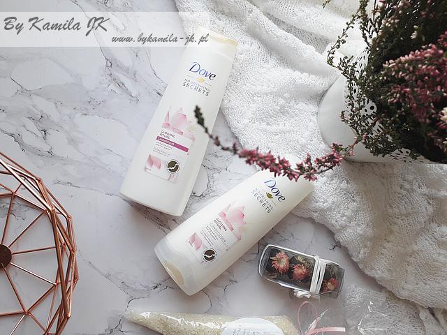 Dove Nourishing Secrets Glowing Ritual szampon odżywka nowość lotos woda ryżowa