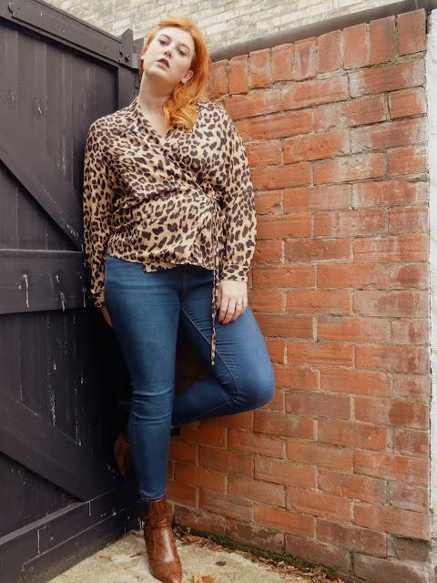 Plus Size Leopard Print
