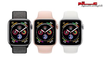 آبل وتش Apple Watch Series 4 Aluminum .