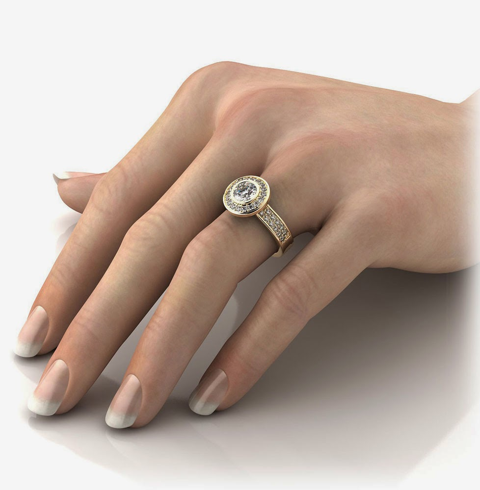 Which Hand Does A Wedding Ring Go On: Luxury Big Diamond Engagement Rings On Finger Ideas