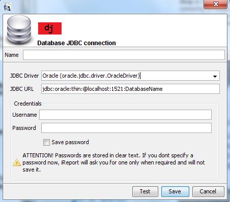 Configuracion JDBC iReport