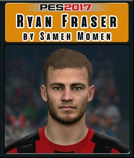 PES 2017 Faces Ryan Fraser by Sameh Momen