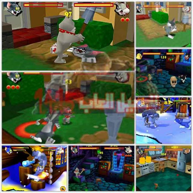 صور من داخل لعبة توم وجيري