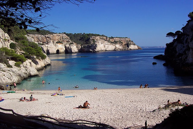 Cala Macarelleta em Menorca