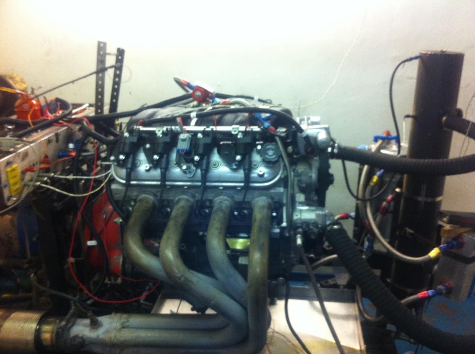 Jonathan's GD427 Mk IV: Engine has Arrived!