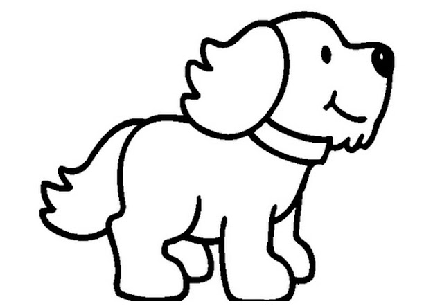 Coloringkids Us Wp Content Uploads   Funny Puppy Coloring Pages