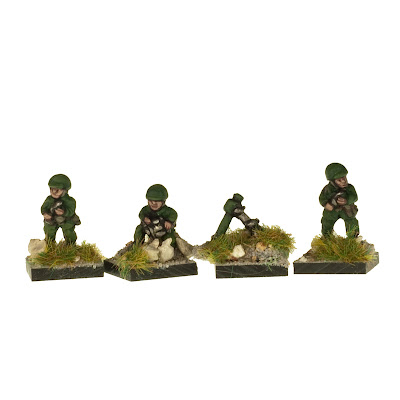 W2U5 US 81mm Mortar Teams