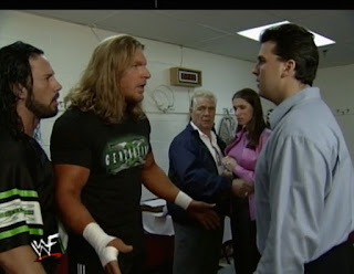 WWE / WWF Survivor Series 1999 - DX confront The McMahons