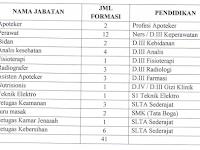 Penerimaan Pegawai Non PNS RSUD Dr Haryoto Kabupaten Lumajang Tahun 2018