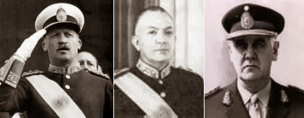 Junta Militar 1966 - Presidentes de la República Argentina - Presidentes Argentinos
