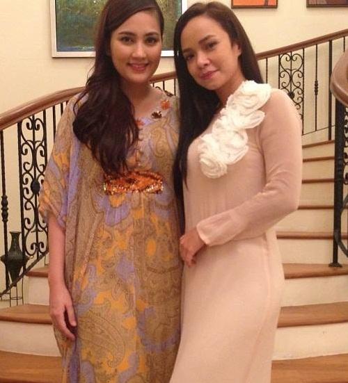 Penampilan terkini Nora Danish dan Fasha Sandha di Malam Raya  Fasha Sandha Dan Nora Danish