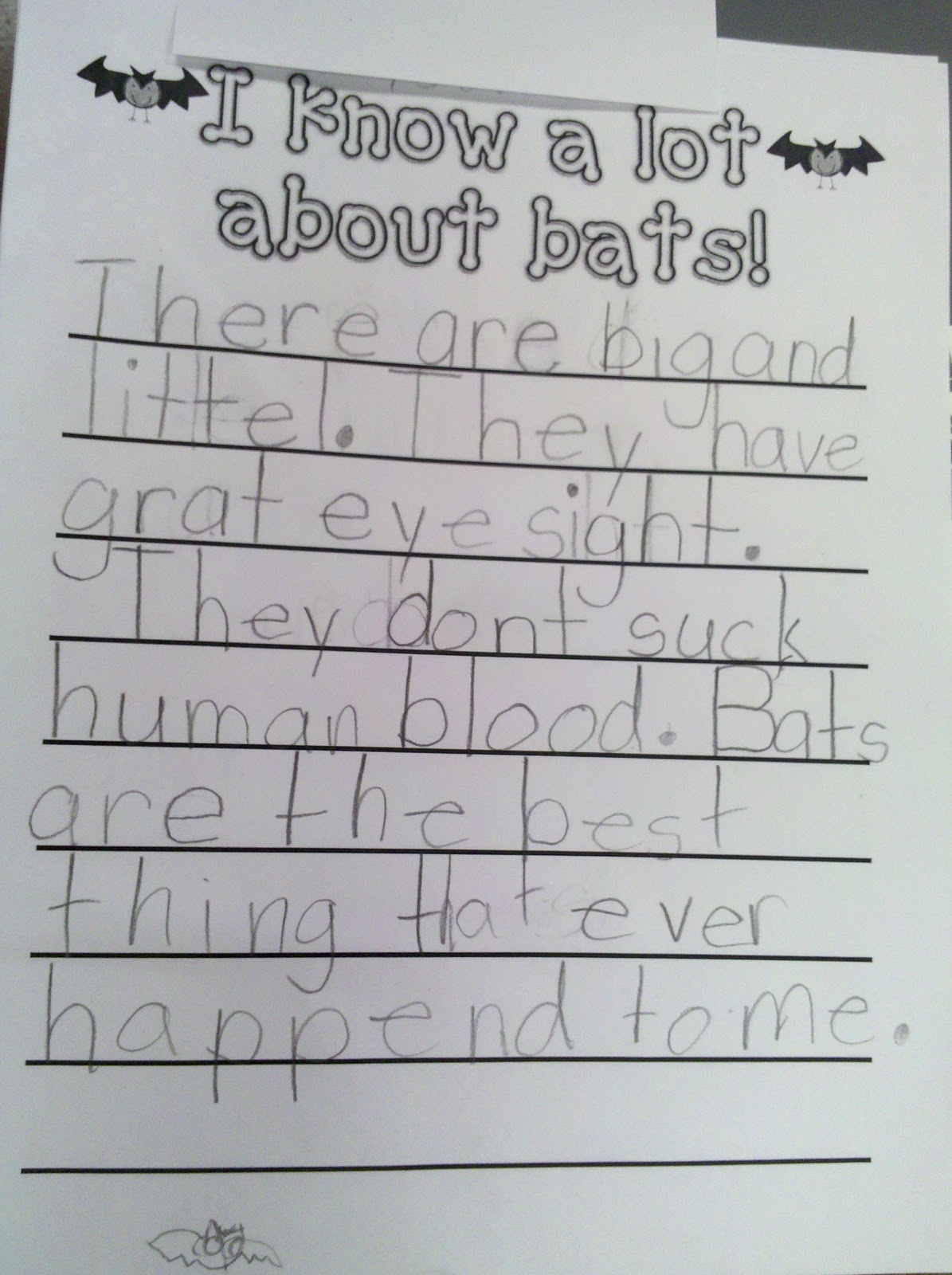 Fun In First Grade More Bat Activities