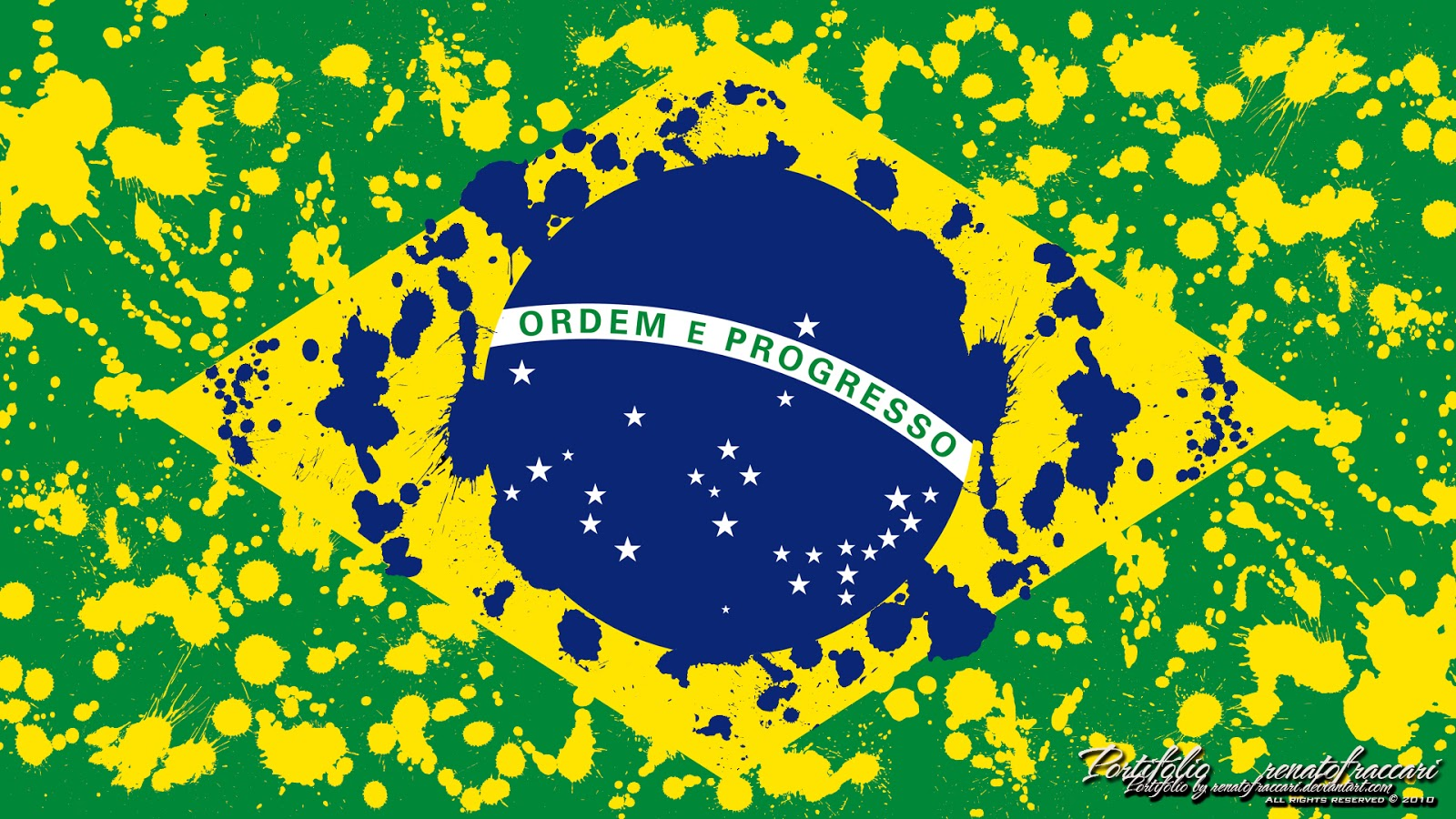 wallpaper brasil d efeitos design