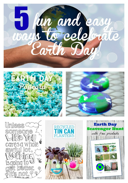 While I'm Waiting...5 fun and easy ways to celebrate Earth Day!