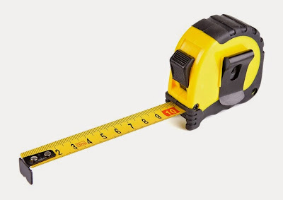 A Yellow and Black Box Tape Measure