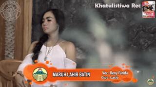 Lirik Lagu Maruh Lahir Batin - Reny Farida