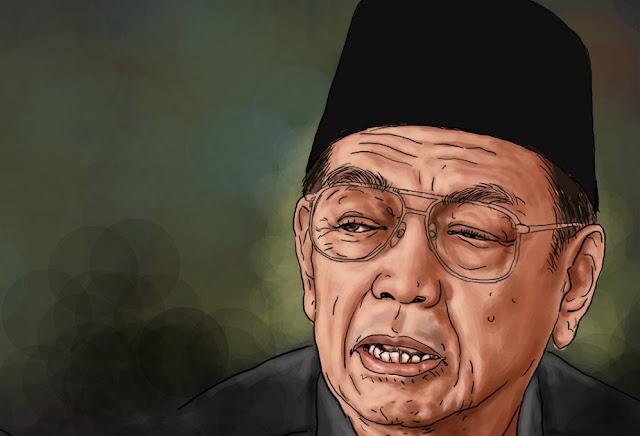 Gus Dur: Preman-preman itu Akan Jadi Gelandangan Politik Seumur Hidupnya