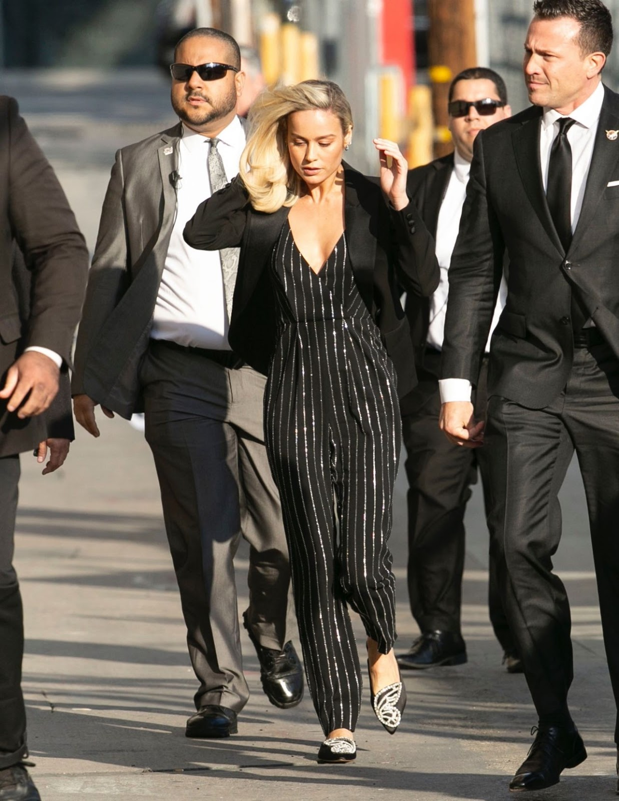 Brie Larson – Arriving to Appear on Jimmy Kimmel Live! in Hollywood - 03/04/2019