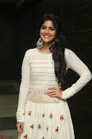 Megha Akash in beautiful White Anarkali Dress at Pre release function of Movie LIE ~ Celebrities Galleries 003.JPG
