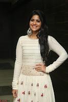 Megha Akash in beautiful White Anarkali Dress at Pre release function of Movie LIE ~ Celebrities Galleries 003.JPG