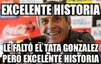"""El Maestro Tabárez """"Excelente historia, le faltó El Tata Gonzalez, pero excelente historia"""""""