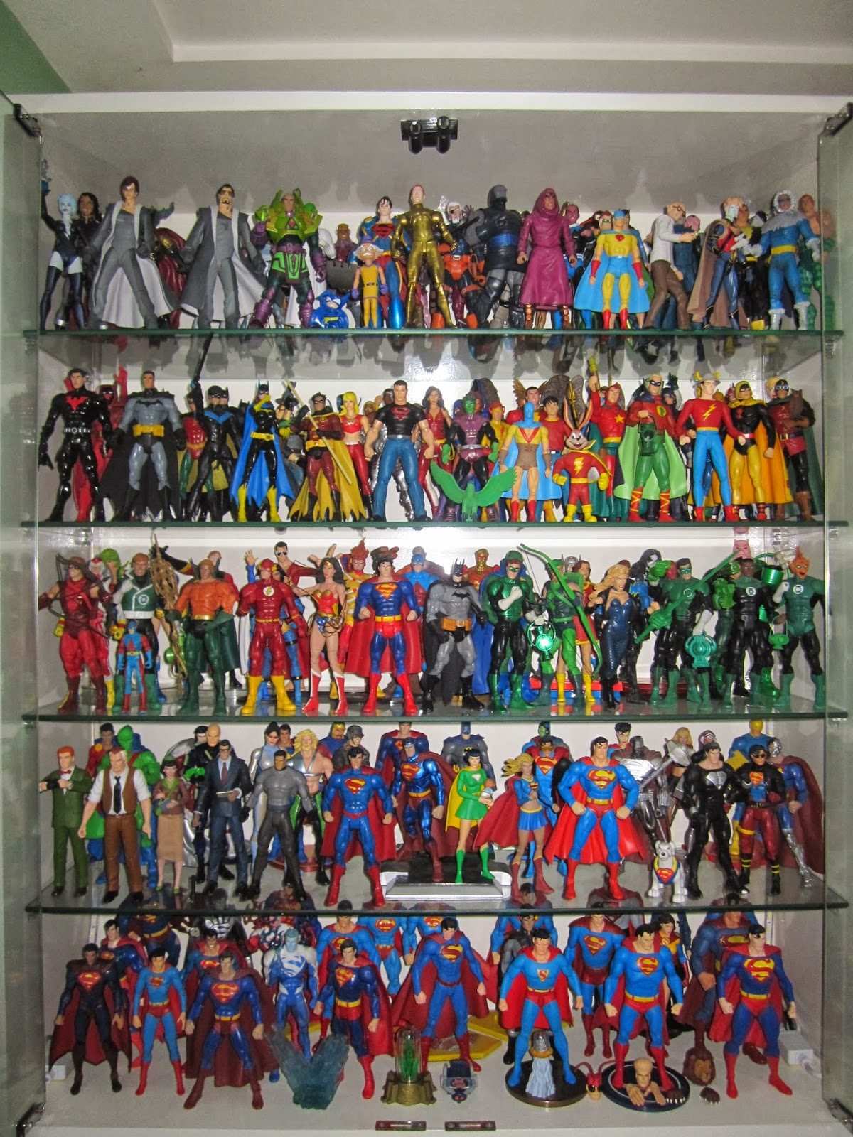 A Look At My Toy Collection Display Cabinet Action Figure Planet
