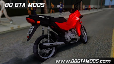 Honda POP 110i para GTA San Andreas , GTA SA