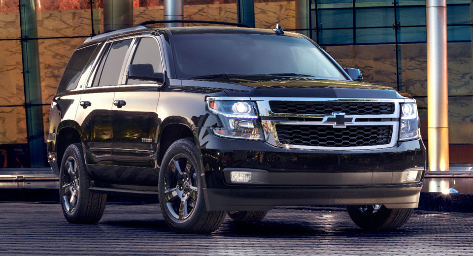 Chevy Gives Tahoe Amp Suburban The Midnight Edition Treatment