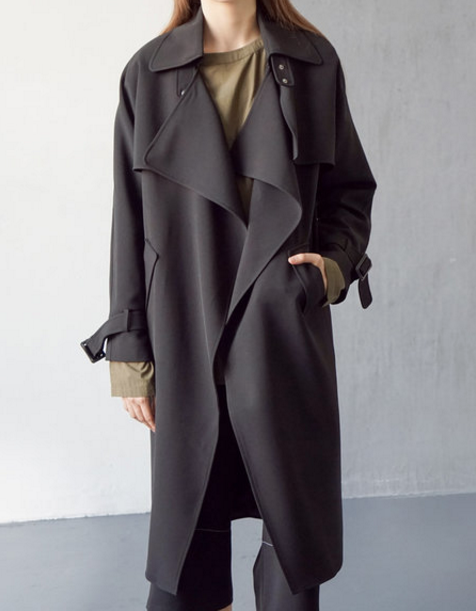 trench coat chic