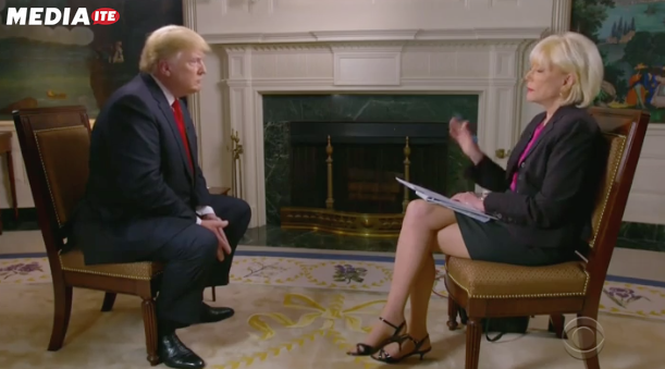 Trump Defends Child Separation in Contentious Exchange With Lesley Stahl: 'I'm President and You're Not'