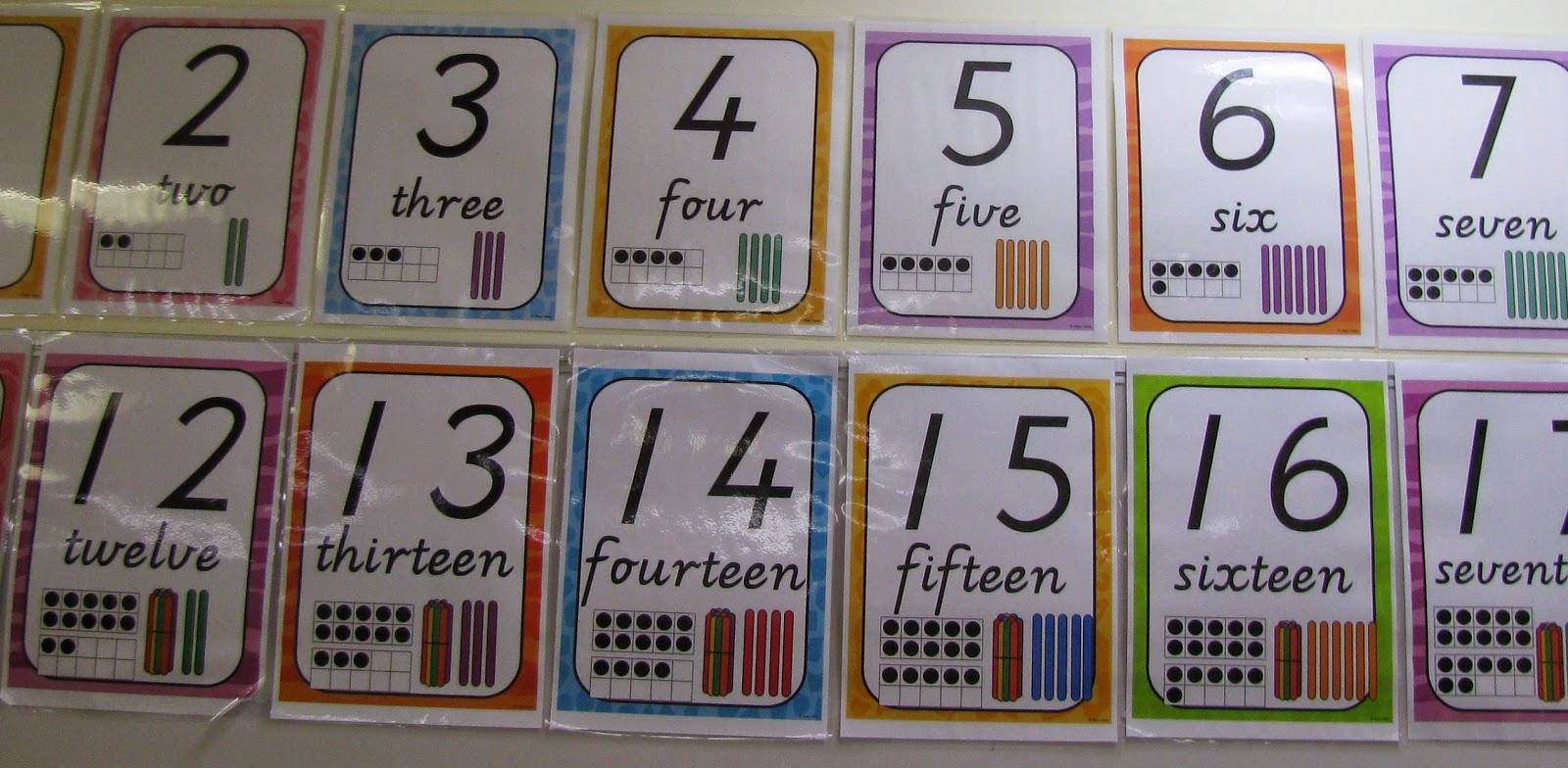 Teen Numbers T